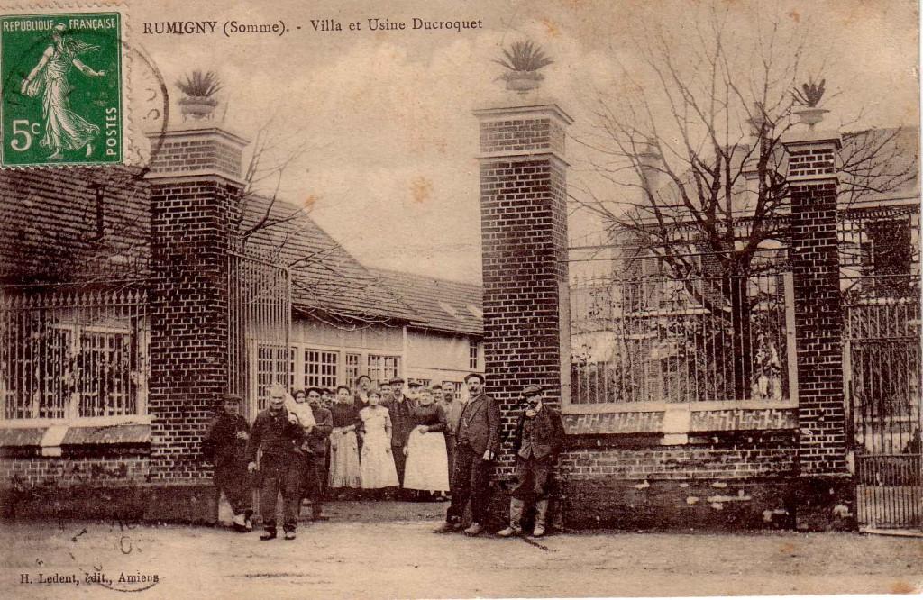 L'entrée de l'usine Ducroquet
