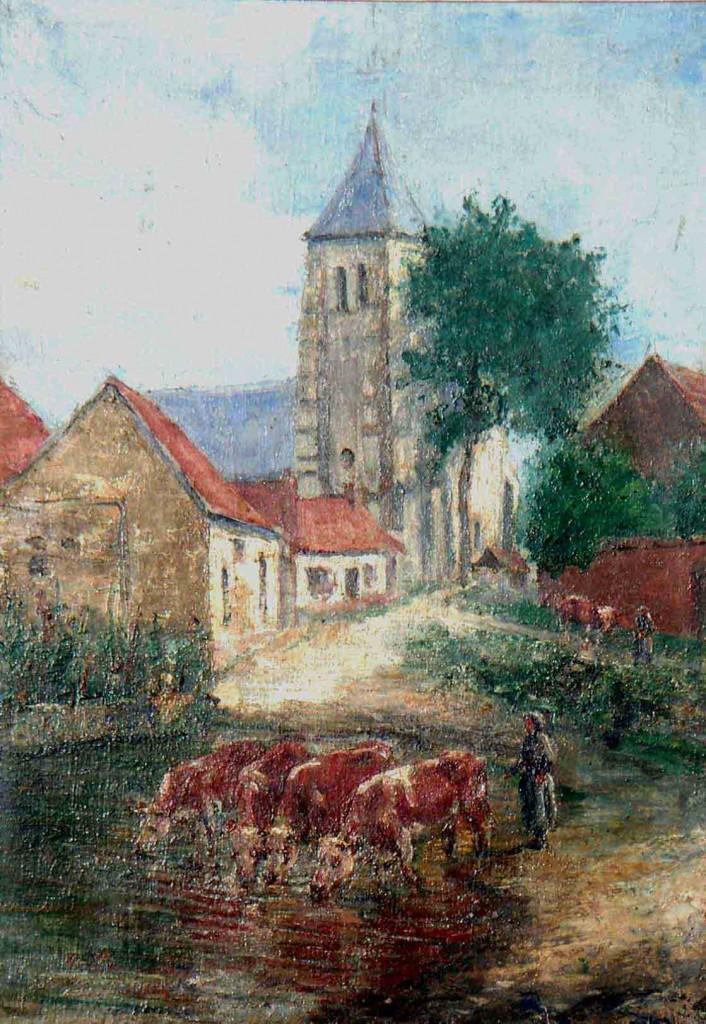 L'église de Rumigny au début du 20è siècle