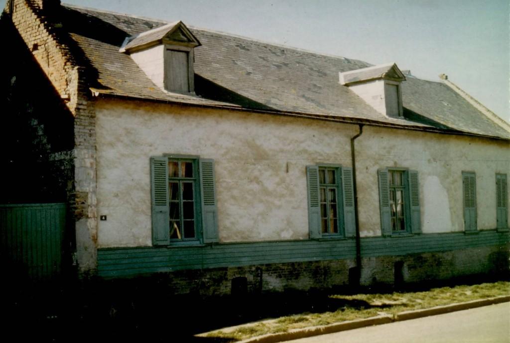 Rue du Quai, une maison non touchée par la guerre